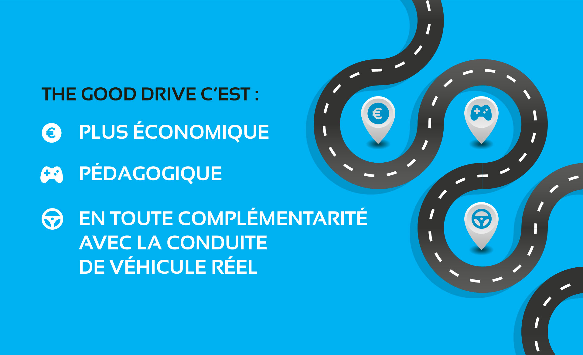 infographie The Good Drive